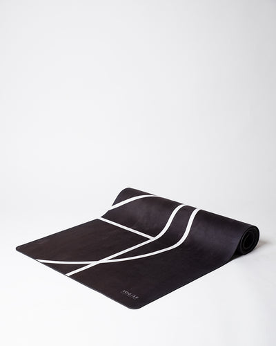 LUXE YOGA MAT - BLACK COFFEE
