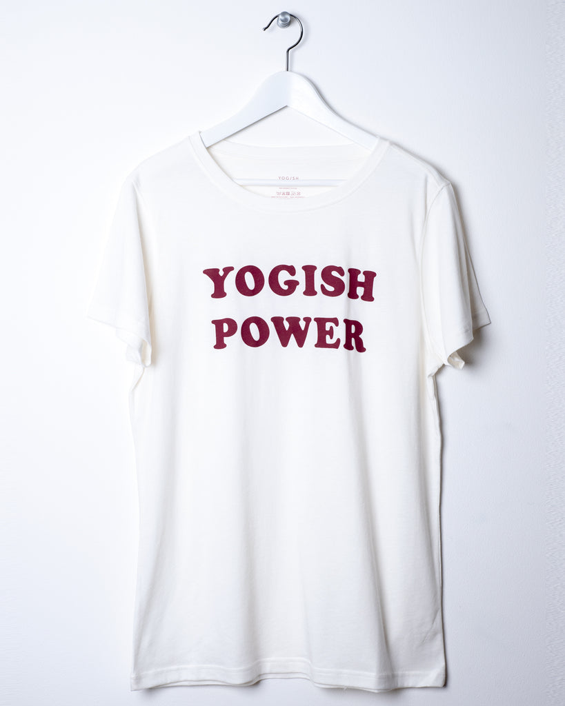 KIM UNISEX T-SHIRT - YOGISH POWER