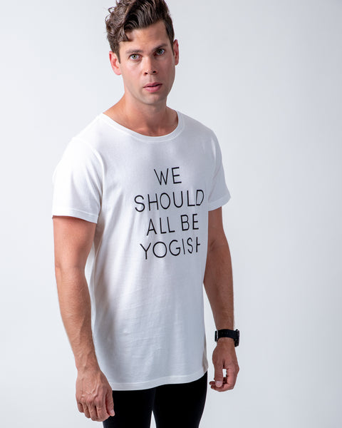 KIM UNISEX T-SHIRT - WE SHOULD ALL BE YOGISH