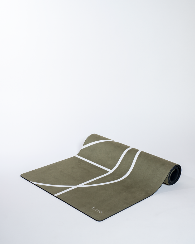 LUXE YOGA MAT - OLIVE