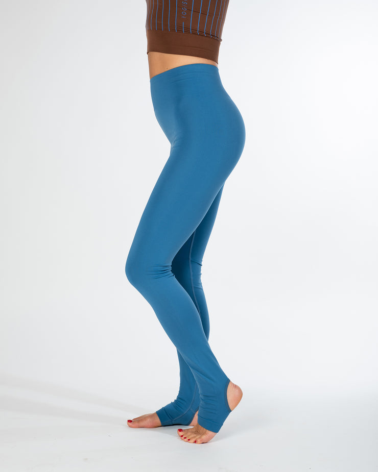 SIRI SEAMLESS LEGGINGS - STELLAR BLUE
