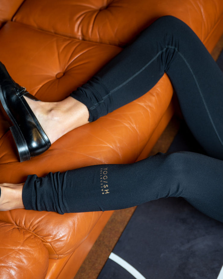 SIRI SEAMLESS LEGGINGS - BLACK