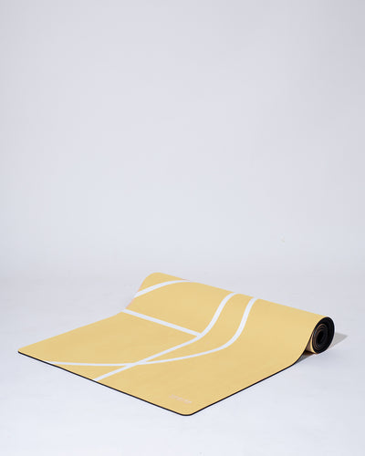 LUXE YOGA MAT - LEMON