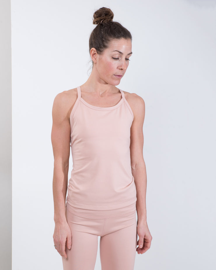 MIRA TOP - DUSTY PINK