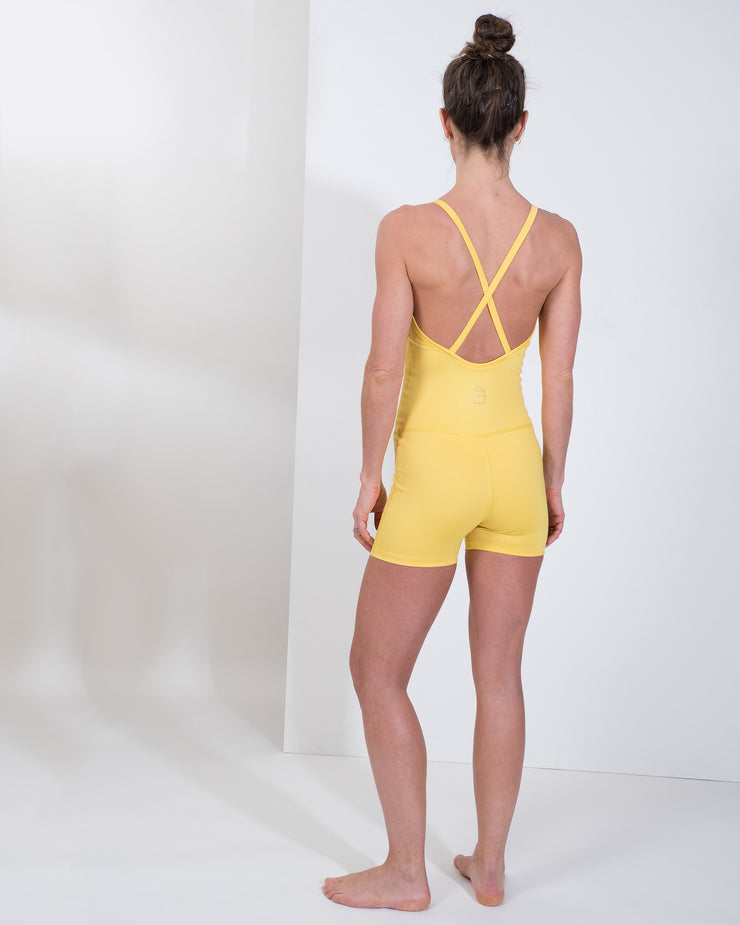 ELLIE LEOTARD - YELLOW