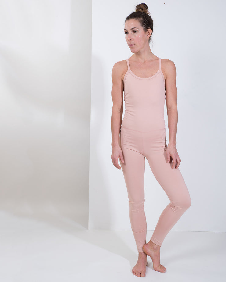 FLO UNITARD - DUSTY PINK