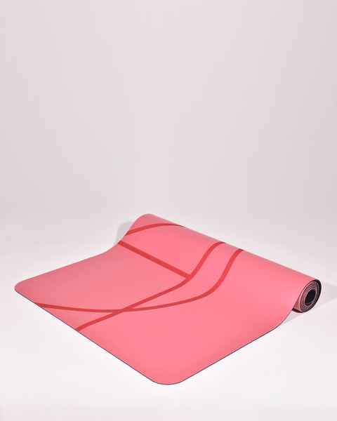 SUPER GRIP YOGA MAT - RASPBERRY