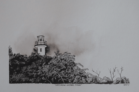 Cape Tourville Lighthouse, Tasmania