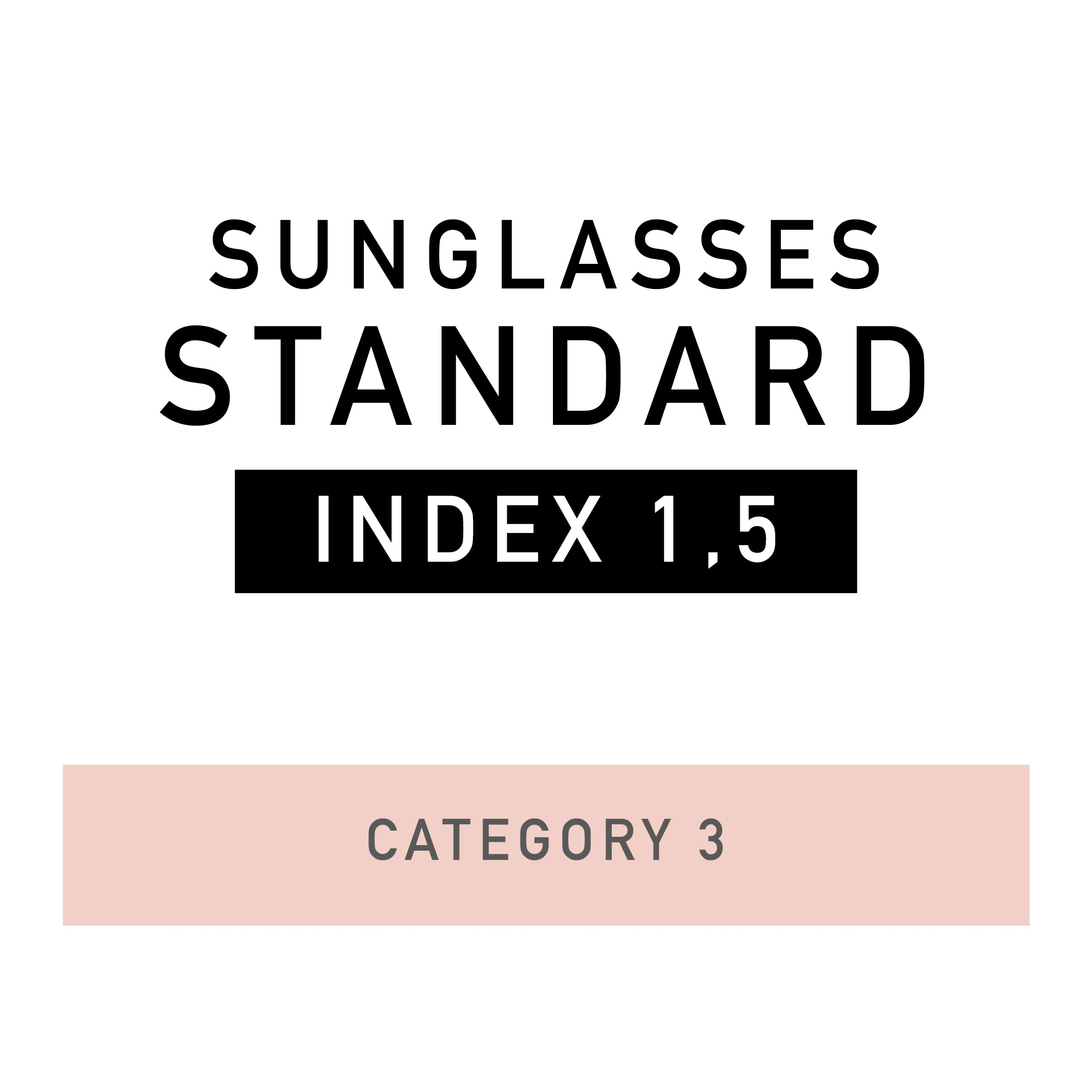 STANDARD lenses - Sunglasses
