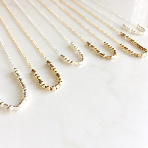 Morse Code Necklaces