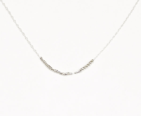 Like a Boss, Morse Code Necklace