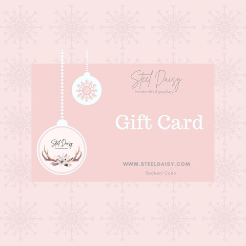 Steel Daisy Gift Card