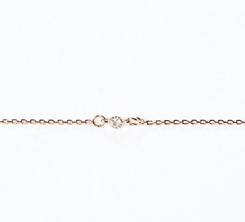 Rose Gold Tiny Crystal Bracelet