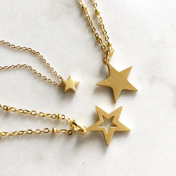 Gold Star ⭐️ Pendant