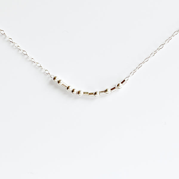 Fuck Morse Code Necklace