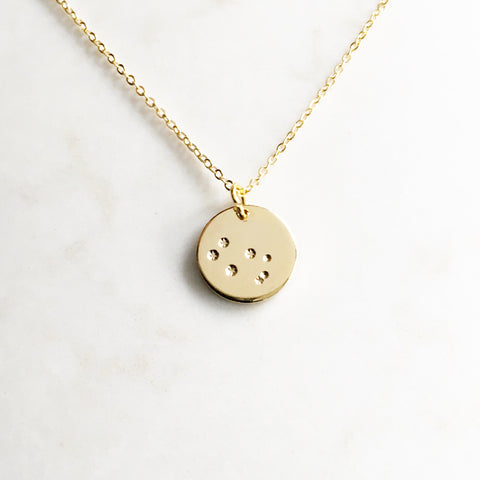 Gemini Constellation Necklace