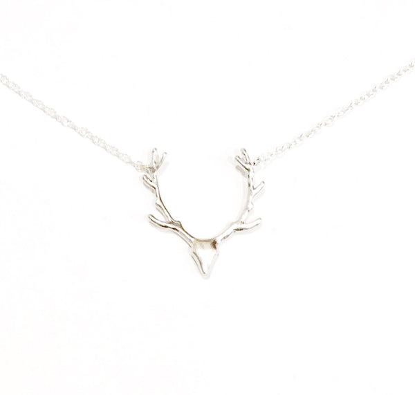 Deer Head Necklace