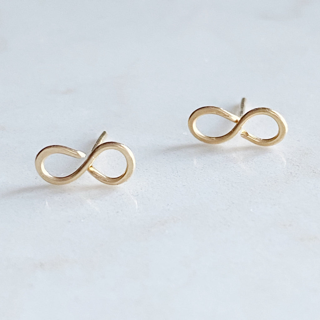 Infinity Post Earrings