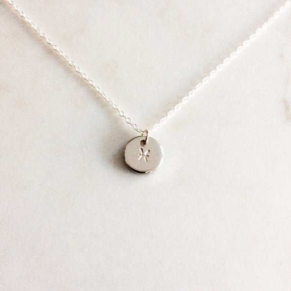Pisces Zodiac Necklace ♓️