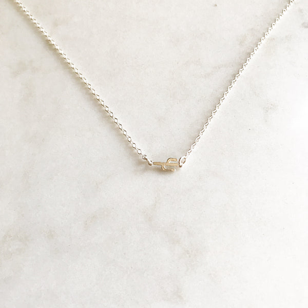 Itty Bitty Cactus Necklace