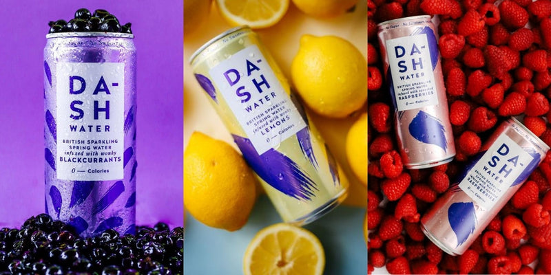 Dash Water – 100% Refreshingly Natural