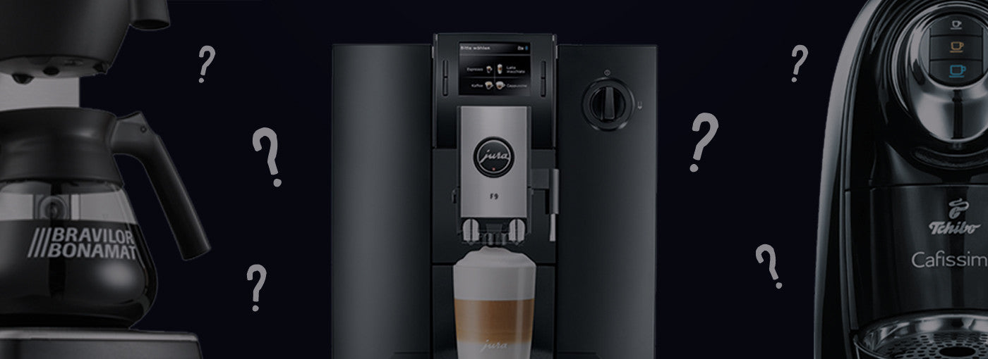 Choosing the right coffee machine for you: Filter, capsule or bean-to-cup?
