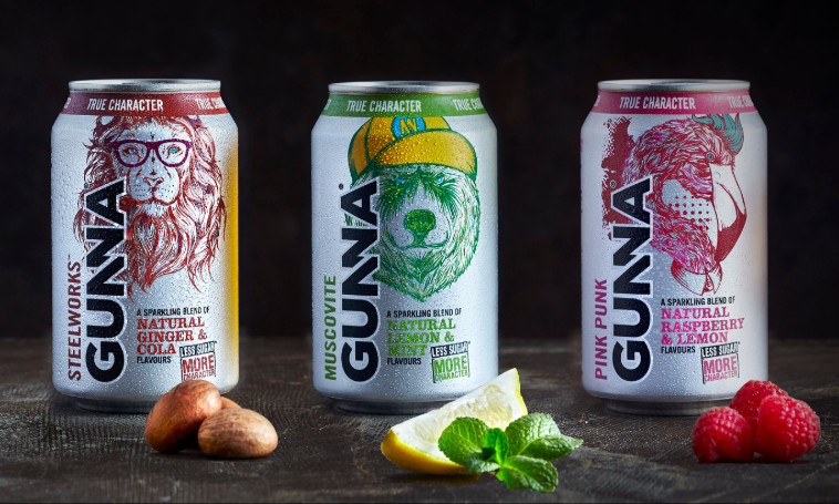 Gunna – ready to drink craft soda with less sugar and more character