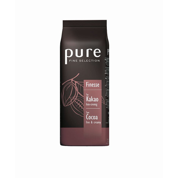 Pure Fine Selection Finesse Instant Hot Chocolate Drink (10x1kg Bags)