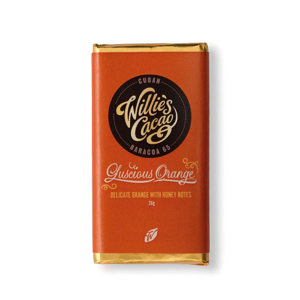 Willies Cacao - Luscious Orange (30x26g Bars)