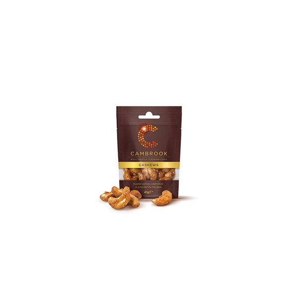 Cambrook Cashew Nuts (12x45g Bags)