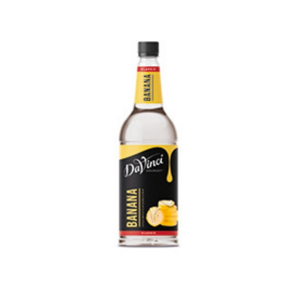 DaVinci Banana Syrup (1x1l Bottle)