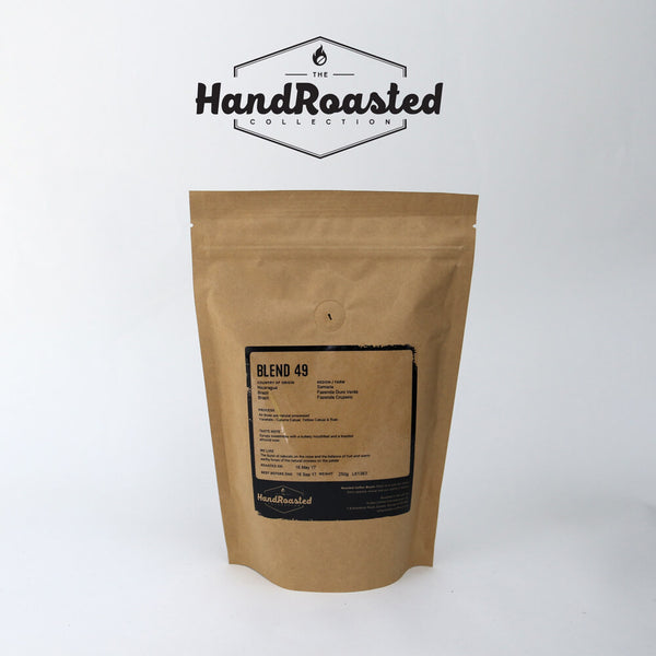 Hand Roasted Blend 49 Coffee Beans (250g Bag)