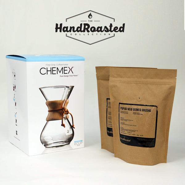 Chemex Coffee Brewer 6 Cup Bundle