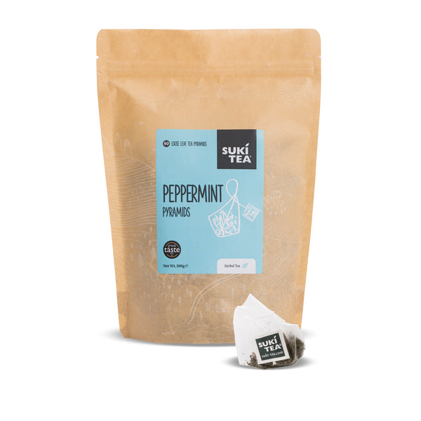 Suki Tea - Peppermint (50 Pyramid Tea Bags)