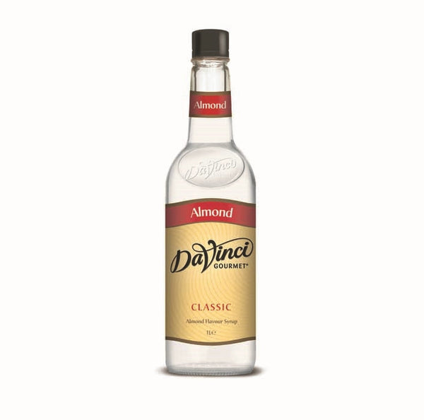 DaVinci Almond Syrup (1x1l Bottle)
