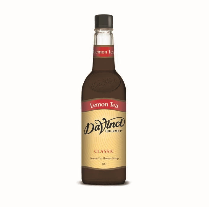 DaVinci Lemon Tea Syrup (1x1l Bottle)