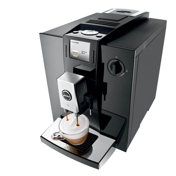 Jura Impressa F9 Piano Black - Onsite Warranty + Free Coffee