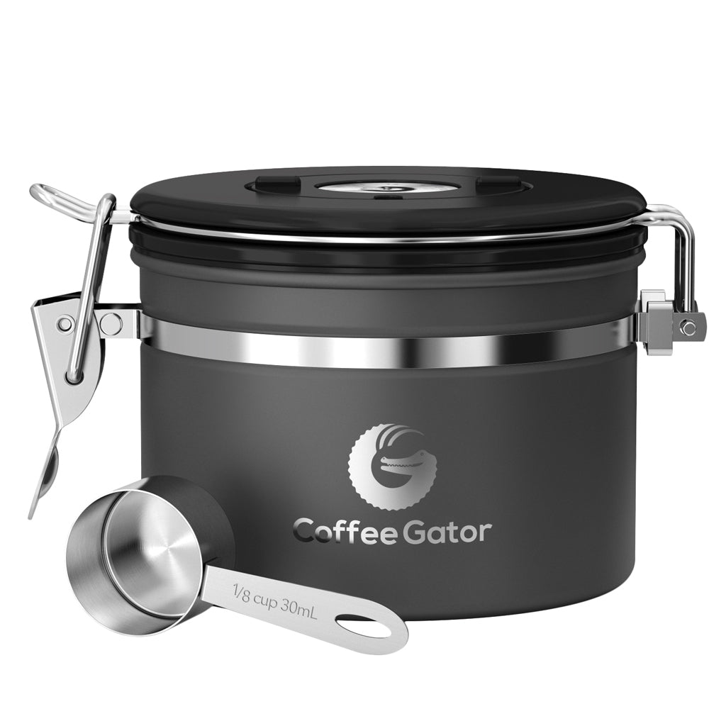 Coffee Gator Beans Canister Small