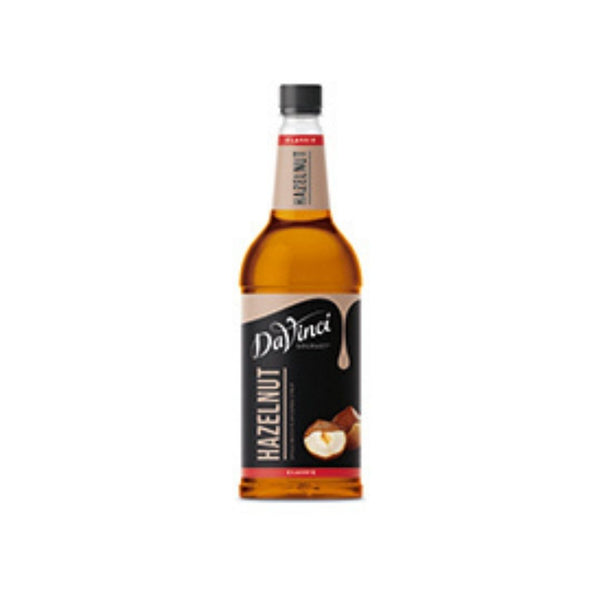 DaVinci Hazelnut Syrup (1x1l Bottle)