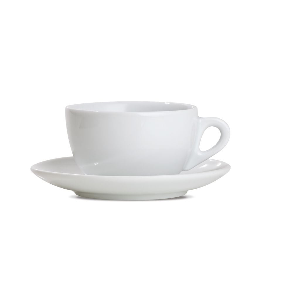 Verona Breakfast Cups & Saucers Set (Set of 6)