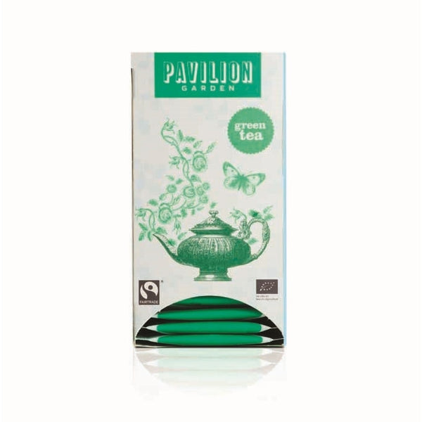 Pavilion Garden Fairtrade Organic Green Tea (6x20)