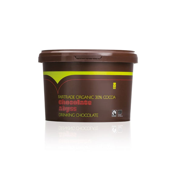chocolate abyss fairtrade organic 30 cocoa 2x2kg tubs. Black Bedroom Furniture Sets. Home Design Ideas