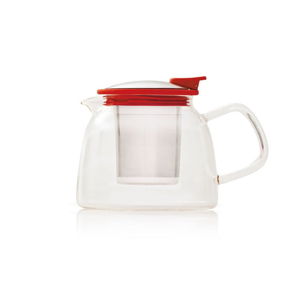 Forlife Red Bell Glass Teapot (14oz)