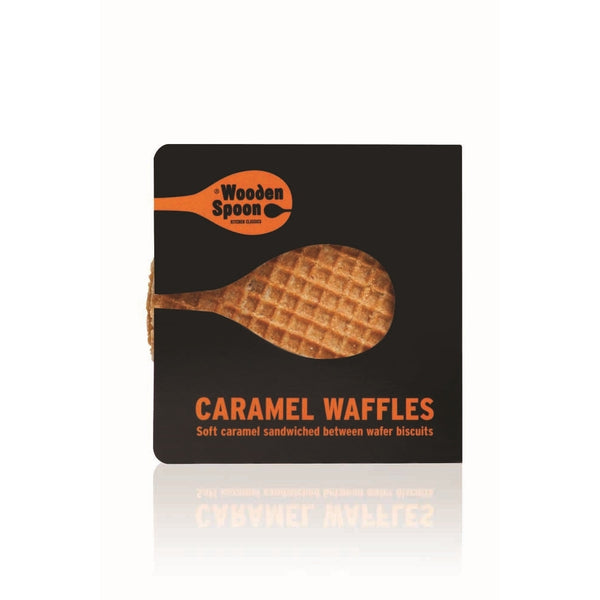 Wooden Spoon Caramel Waffles (60x70g twin pack)
