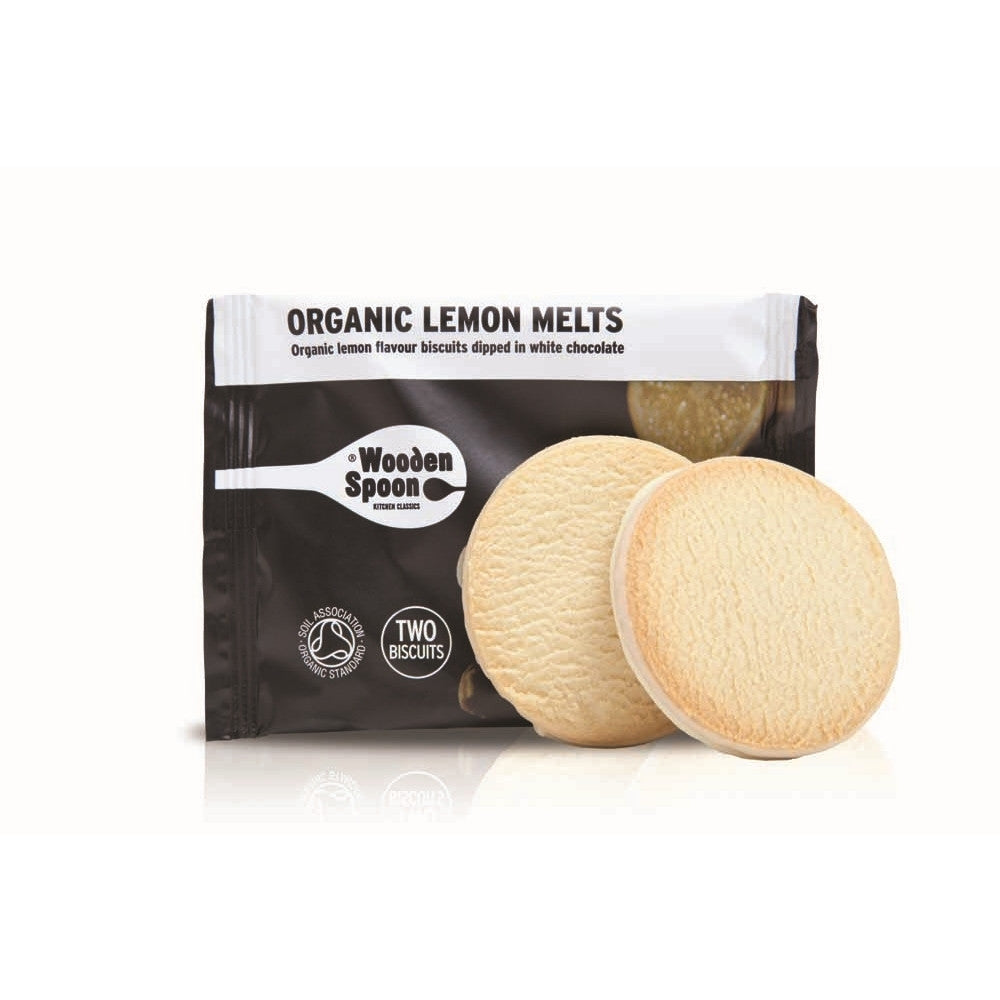 Wooden Spoon Organic Lemon Melts (48x35g twin packs)