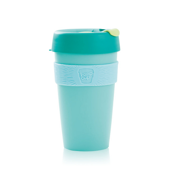 KeepCup Reusable Coffee Cup - Cucumber (16oz)