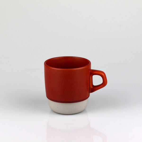 Kinto Orange Stackable Porcelain Mug (320ml)