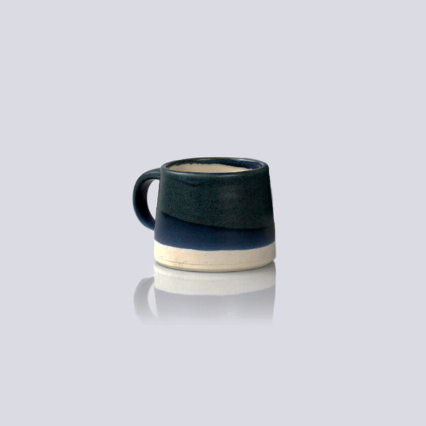 Kinto Navy / White Dual Colour Porcelain Mug (110ml)