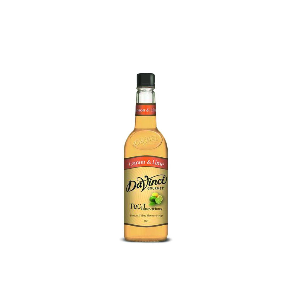 DaVinci Lemon & Lime Fruit Innovations Syrup (1l Bottle)