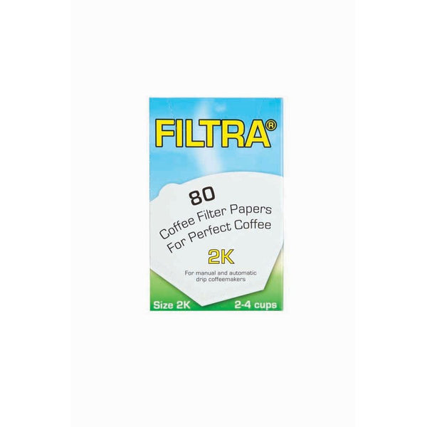 Filtra Filter Cone Filter Papers (1x80)